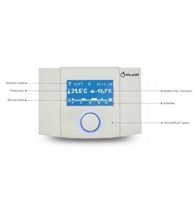 Панель дистанційного керування ecoSTER200