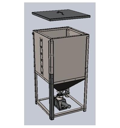 Бункер для пеллет 420 л