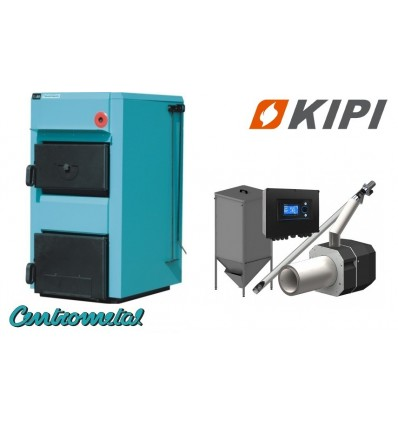 Котел Centrometal EKO-CK P 25 кВт + горелка KIPI 26 кВт + бункер