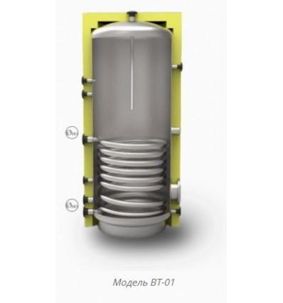 Бойлер емальваний ВТ-01-1000 з теплообмінником