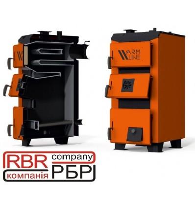 Котел твердопаливний Warmax UNI 16 кВт