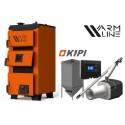 Котел Warmhaus Premium 27 кВт + горелка KIPI 26 кВт + бункер