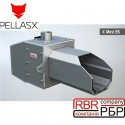 Пелетний пальник PellasX Mini 35 кВт