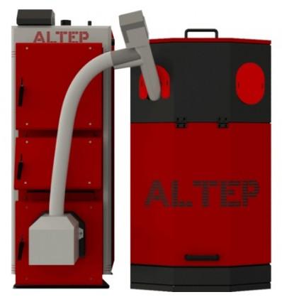 Котел твердотопливный пеллетный Altep Uni Duo Pellet 27 кВт