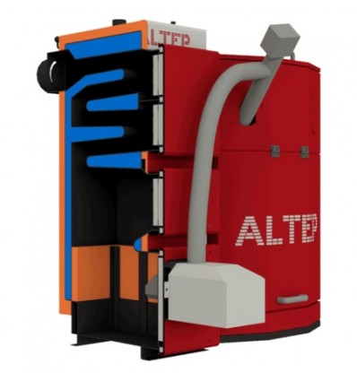 Котел твердотопливный пеллетный Altep Uni Duo Pellet 33 кВт