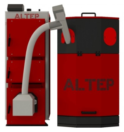 Котел твердотопливный пеллетный Altep Uni Duo Pellet 40 кВт