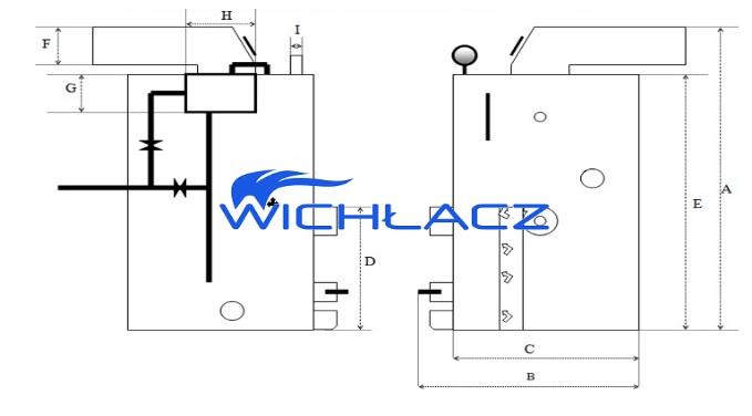 парогенератор WICHLACZ Wp